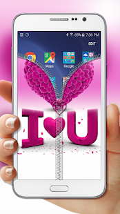 Pink-Love-Zipper-Lock 2