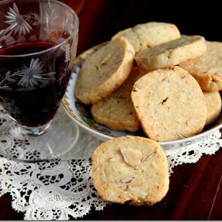 Parmesan Almond Crackers.