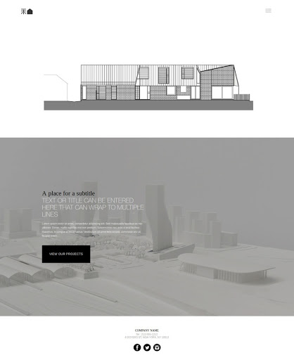 Build a Architect Website