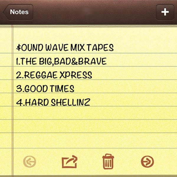 Photo: Mix cd list