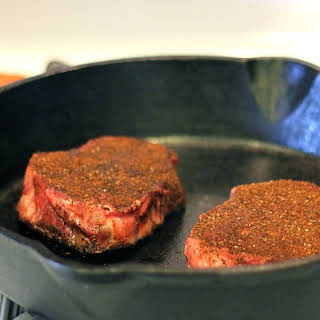 Coffee Rubbed Steak.
