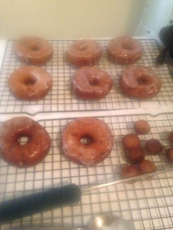 Delicious Blueberry Glazed Donuts