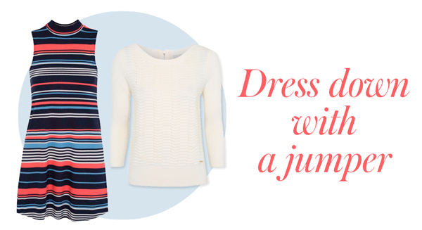 Pair your summer dresses with pretty jumpers at George.com