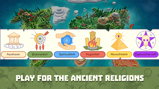 Religion inc. God Simulator & Sandbox World Create (MOD, Paid/MOD MENU) v1.1.73 1