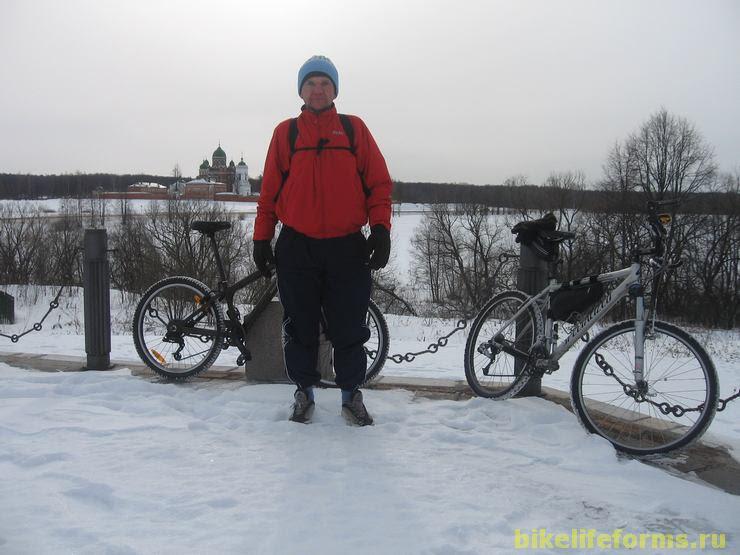 Бородинское поле зимой