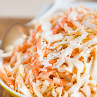How To Make Classic Creamy Coleslaw.