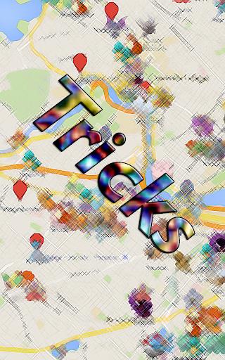 Trick GO Map For Pokemon GO