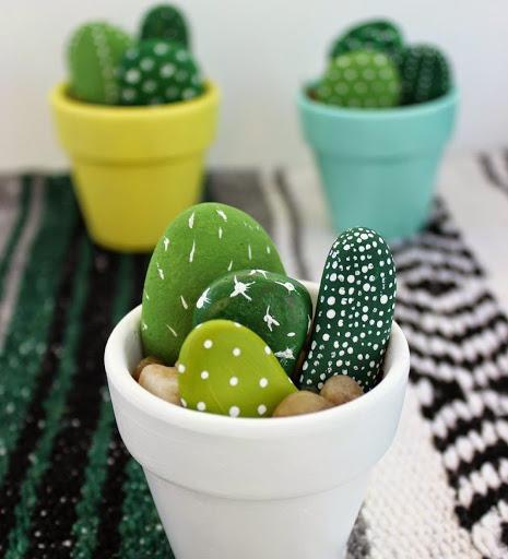 cadeaux DIY fêtes des mères minis cactus