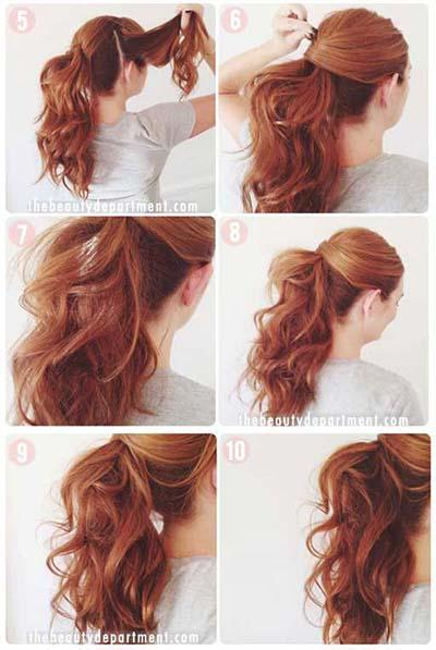 Easy step aid to hair type and shade.