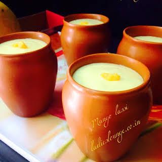 Mango Lassi Without Yogurt Recipes.