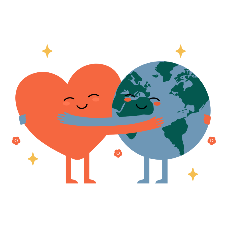 Social relationship for healthy heart