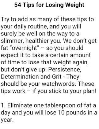 How to Lose Weight in a Week- screenshot