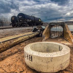 Indus lost part by Joe Hamel - Transportation Trains