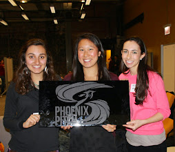 Photo: Endowmentary team with the Phoenix Pitch sign!