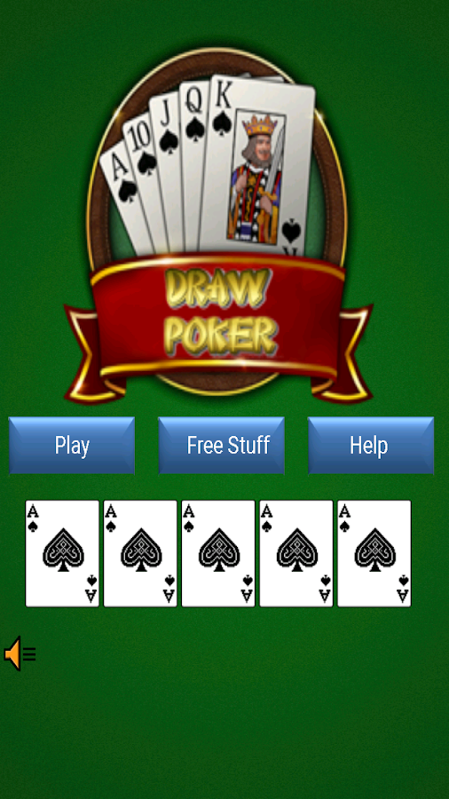 free 5 card draw poker solitaire free