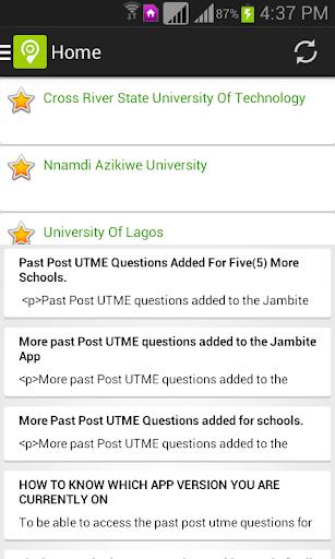 Jambite: Free JAMB & WAEC Past Questions Prep 0.0.136 screenshots 11