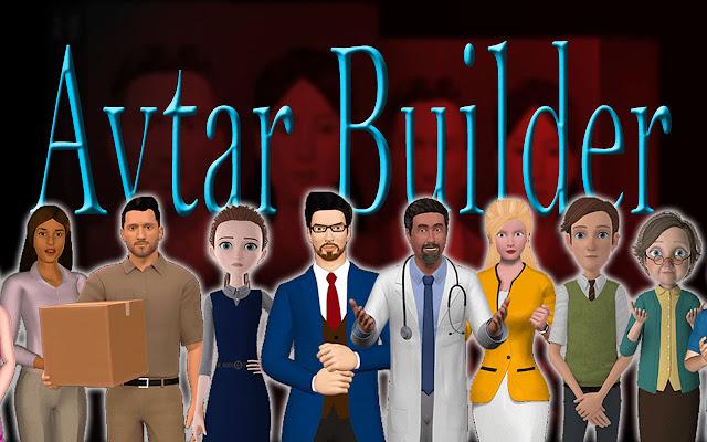 AvtarBuilder-3d character creator software