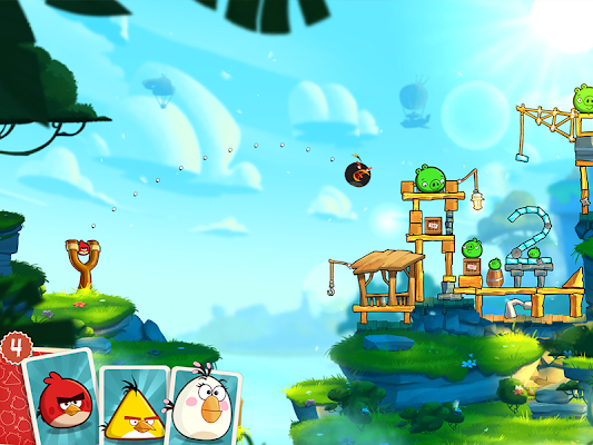 Angry Birds 2- screenshot