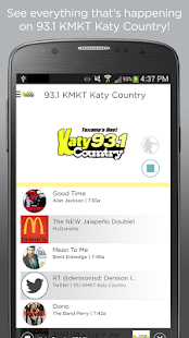 93.1 KMKT Katy Country- screenshot thumbnail