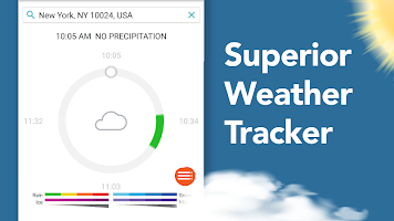 screenshot of AccuWeather: Weather Forecast Updates & Radar Maps