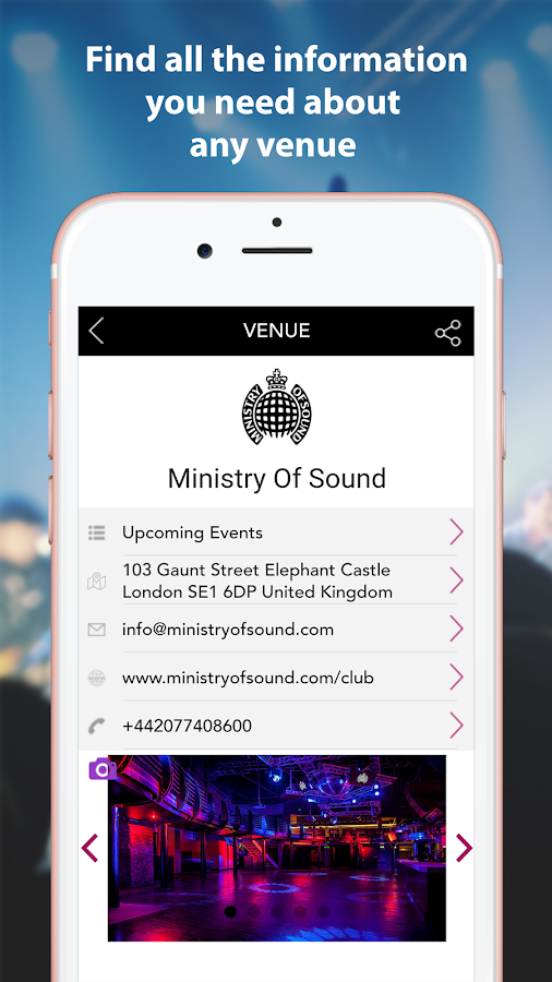 MyClubConnect London Clubbing- screenshot
