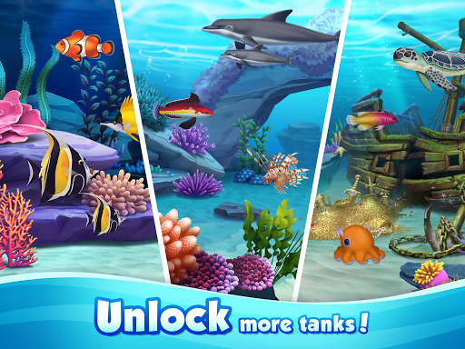 Aqua Blast: Fish Matching 3 Puzzle & Ball Blast apkpoly screenshots 9