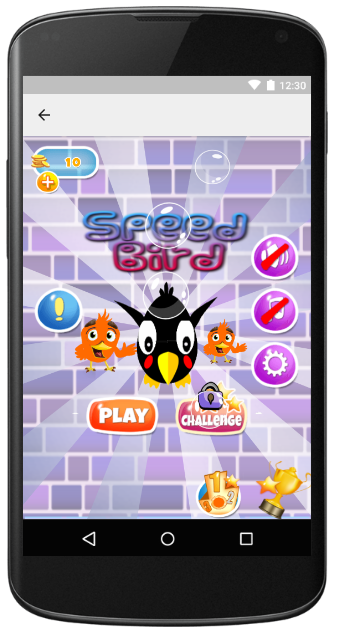 New Speed Birds Game- screenshot