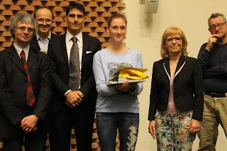 """Photo: Piccolo Agone Placidiano 2015: Vincitrice per il Liceo Classico """"Mamiani"""" di Pesaro: Arianna Cavedine (2° anno)"""