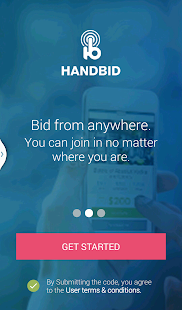 Handbid- screenshot thumbnail