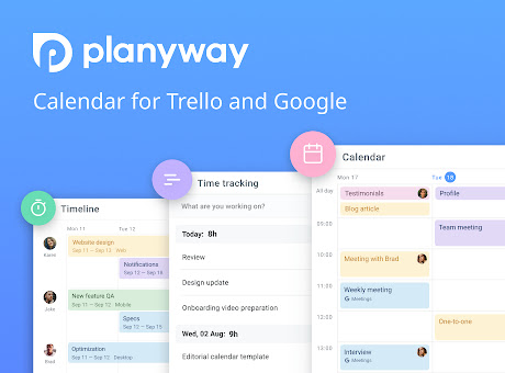 Planyway: Calendar & Time Tracking for Trello