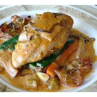 Chicken Tarragon With Eryngii Mushroom
