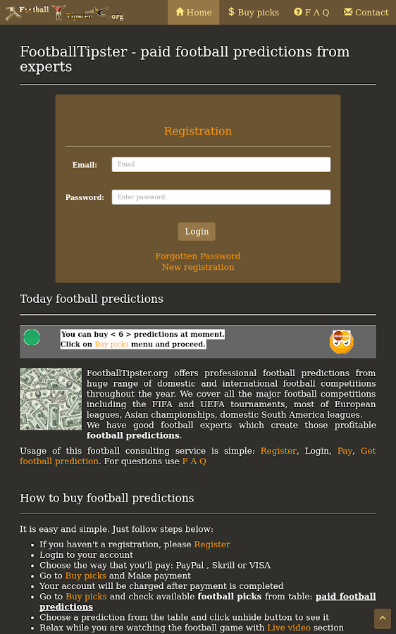 Football Tipster- screenshot