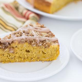 Pumpkin Spice Latte Coffee Cake Recipe