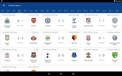 EPL Live: English Premier League scores and stats 8.0.4 Screenshots 10