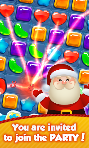 android Santa Party: Xmas Crush Saga Screenshot 0