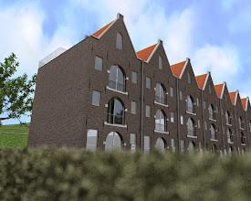 Photo: Impressie van mogelijke nieuwbouw in Anna's Hoeve te Hilversum.  Ivo Blaauw Gemeente Hilversum