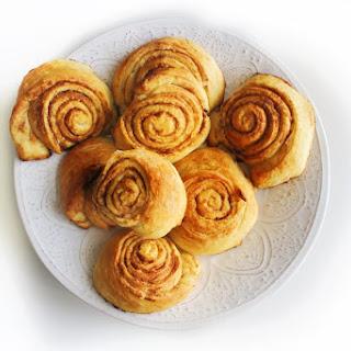 Croissant Style Cinnamon Rolls.