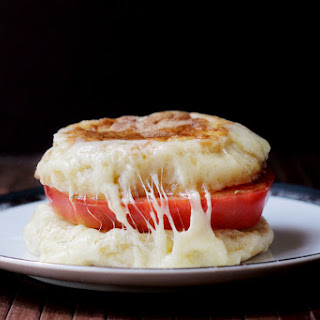 English Muffin Grilled Cheese.