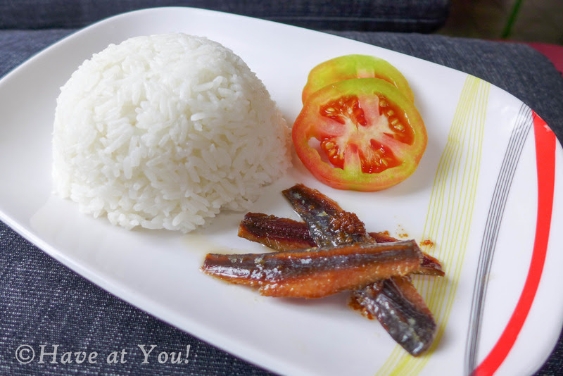 Super Tuyo with rice