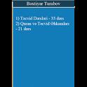 Təcvid, Quran, Ərəb Əlifbası Dərsləri B. Turabov icon