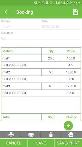 Zentrade - Order Booking/Inventory/GST Billing App 1.92 screenshots 4