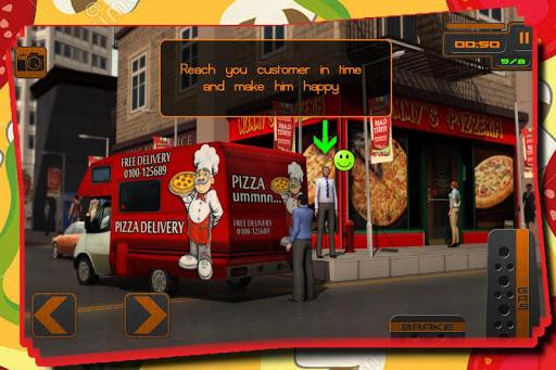 比薩凡送貨服務3D