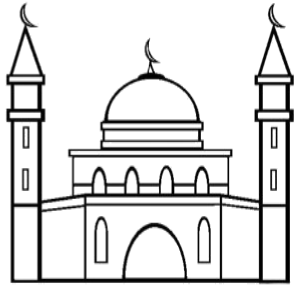 coloring mosque masjid screenshot