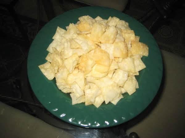 Fried Won Ton Chips Recipe