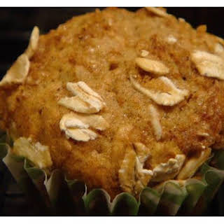 Oat Bran Banana Muffins.