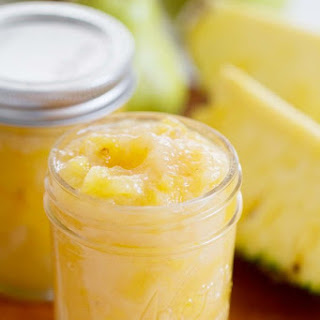 Pear and Pineapple Jam.