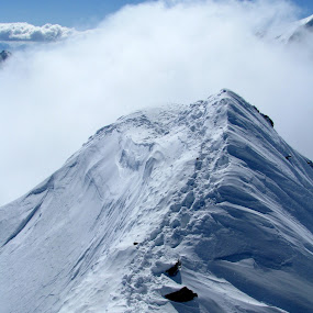 The ridge by Igor Gruber - Landscapes Mountains & Hills ( mountain, snow )