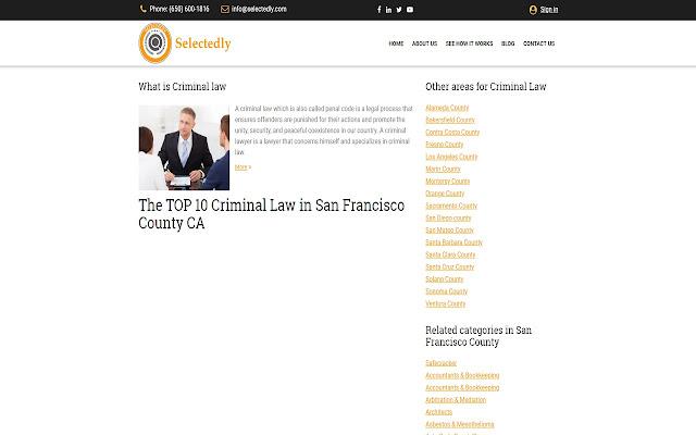 Criminal Lawyers San Francisco