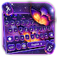 Download Colorful Purple Starry Butterfly Keyboard Theme For PC Windows and Mac