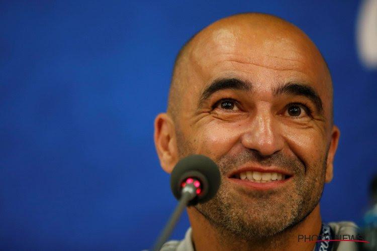 """Roberto Martinez revient sur la sortie et la blessure de Lukaku : """"Romelu est touché au ligament externe de la cheville gauche"""""""